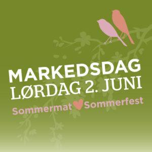 Sommerfest og sommermat 2. juni