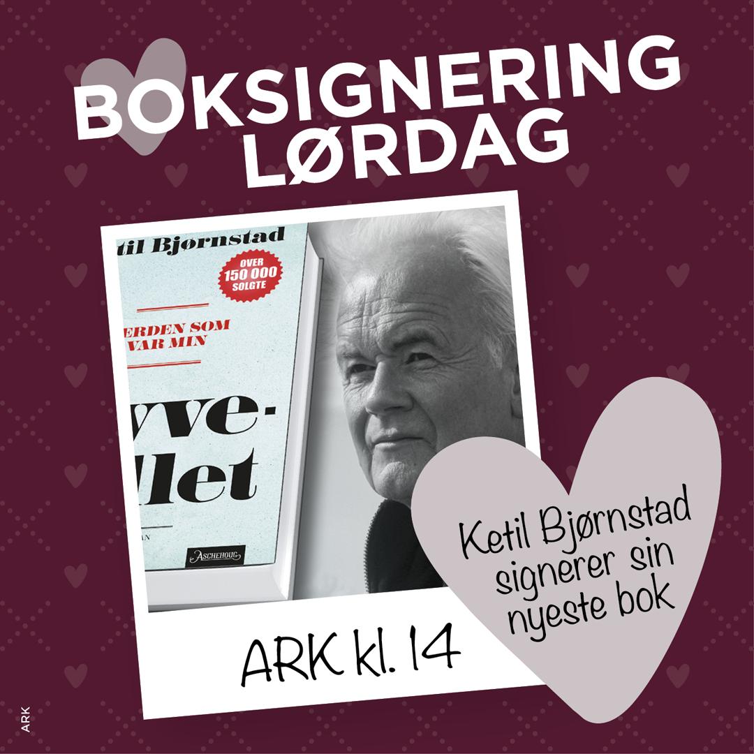 Boksignering av Ketil Bjørnstad