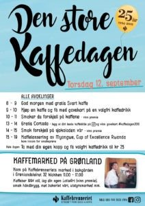 Den store kaffedagen 12. september
